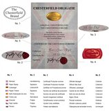 Chesterfield Sofa Vintage Leder | 2-Sitzer | Schwarz | 12 Jahre Garantie_