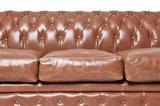 Chesterfield Sofa Vintage Leder | 6-Sitzer | Mokka | 12 Jahre Garantie_