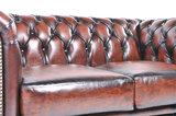 Chesterfield Sofa Original Leder    1 + 2  Sitzer   Antik Braun  12 Jahre Garantie_