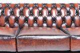 Chesterfield Sofa Original Leder    1+ 1 + 3  Sitzer   Antik Braun  12 Jahre Garantie_