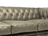 Chesterfield Sofa Vintage Leder Alabama C1057 | 1 + 1 + 3 Sitzer | 12 Jahre Garantie_