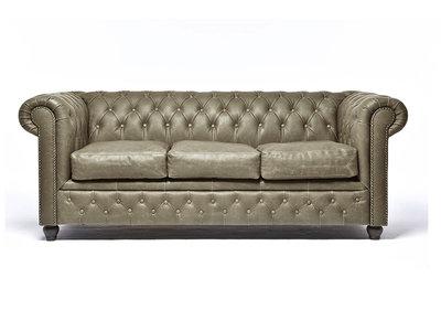 Chesterfield Sofa Vintage Alabama C1057 | 3-Sitzer | 12 Jahre Garantie