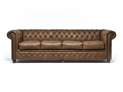 Chesterfield Sofa Vintage Alabama C1059 | 4-sitzer | 12 Jahre Garantie