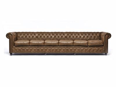 Chesterfield Sofa Vintage Alabama C1059   6-Sitzer   12 Jahre Garantie